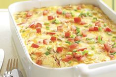 Crustless Bacon and Cheese Quiche Recipe - Kraft Recipes