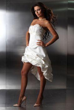 d0c5431899df Die 15 besten Bilder von hochzeitskleid vorne kurz hinten lang in ...