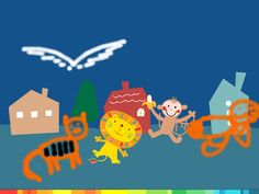 Lazoo App great for drawing your own stories.