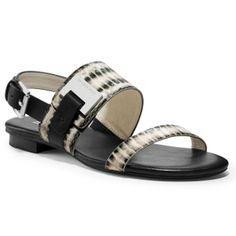 MICHAEL Michael Kors - Guiliana Flat Sandals - $101.50 (30% off)