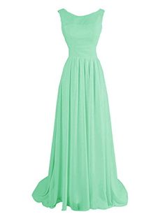 Dressystar Long Chiffon Bridesmaid Dresses Ruched Evening Gowns Zip Back Prom Dresses 2015, Long Bridesmaid Dresses, Summer Dresses, Formal Dresses, Evening Gowns, Evening Party, Most Beautiful Women, Dress Outfits, Fashion Show