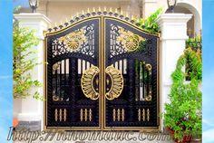 Front Gate Design, Main Gate Design, House Gate Design, Latest Gate Design, 10 Marla House Plan, Single Floor House Design, Grill Gate, Aluminum Molding, Led Rope Lights