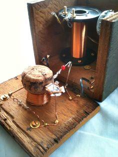 TheRadioBoard • View topic - 'Foxhole' crystal radio