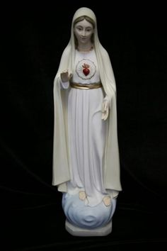 """Our Lady of Fatima Statue - 23 1/2""""H - Full Color"""