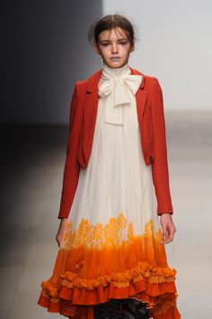 "modischste: "" Bora Aksu at London Fashion Week Fall 2012 """