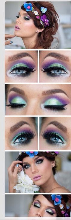 Fun And Colorful Eyes #Fashion #Beauty #Trusper #Tip