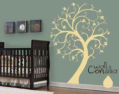 Nursery Tree Wall Decal Wall Sticker  Tree Wall by WallConsilia
