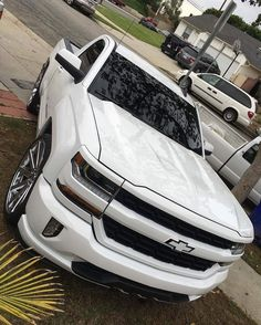 Nothing But Pleasure Pink Chevy Trucks, Chevy Trucks Lowered, Custom Chevy Trucks, Gm Trucks, Cool Trucks, Pickup Trucks, Lifted Ford, Diesel Trucks, Lifted Trucks