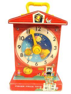 Fisher-Price Music Box Teaching Clock
