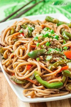 20-Minute Skillet Lo Mein (+Giveaway) - Chew Out Loud