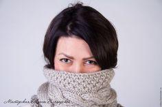 Купить Вязаный снуд, шарф-хомут, труба - вязаный снуд, купить вязаный шарф