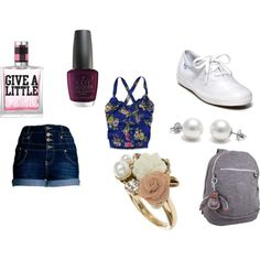 casual day in the summer:), created by smepley on Polyvore