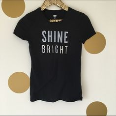 Shine Bright Graphic Tee Worn once, excellent condition! Old Navy Tops Tees - Short Sleeve