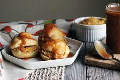 Pumpkin ale cream choux puffs recipe