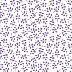 Watercolour Berries Pattern - Helena Leslie