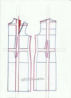 Basic dress pattern (portoguese)