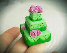 1:12 Scale Miniature Food Dollhouse Food Miniature Cake by hookata
