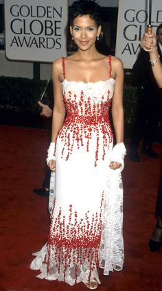 Halle Berry, 2000 from Stars' First Golden Globes | E! Online