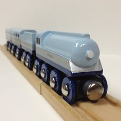 Hand Made Wooden Trains