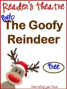 FREEBIE - Ready for some Christmas fun! This reader's theatre script is designed for the whole class to enjoy. There are six main readers and four choral groups. Assign parts and have a blast reading this goofy story about a reindeer named Bob! Readers Theater, Christmas Activities, Classroom Activities, Christmas Worksheets, Preschool Bulletin, Classroom Decor, Just In Case, Just For You, Noel Christmas