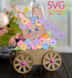 "Brigit's Scraps ""Where Scraps Become Treasures"": Make A Spring Treat - SVG Cutting Files Challenge"