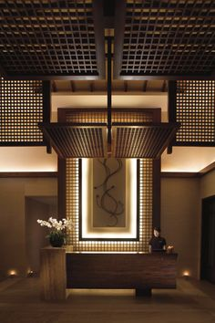Best Place to find hotel lobby design Lobby Interior, Interior Lighting, Home Interior Design, Interior Architecture, Interior And Exterior, Interior Decorating, Hotel Lobby Design, Restaurant Hotel, Restaurant Design