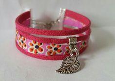 Bracelet Rose à fleurs EloDie Bijoux