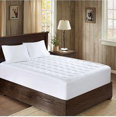 Woolrich Lexington 300-Thread Count Full Down-Alternative Mattress Pad Bedding