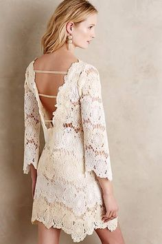 Lacery Tunic Dress - anthropologie.com