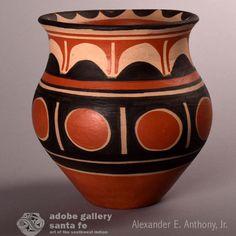 Southwest Indian Pottery C4255C - Adobe Gallery, Santa Fe