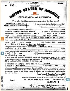 Tracking Down Ancestors' Naturalization Records - Family Tree Magazine
