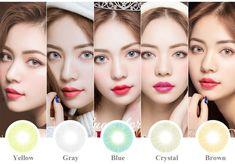 Wholesale Colored Contacts Azul Marine Ice Cristal Color Contact Lens Hidrocor Eye Lens Solotica Contact Lenses