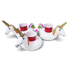 Unicorn Inflatable Drink Holders For Any Party