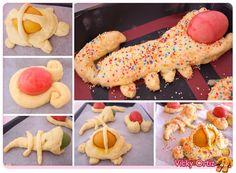 Mona de Pascua | Sucre Art Doughnut, Sushi, Easter, Ethnic Recipes, Desserts, Gastronomia, Meals, Easter Recipes, Brioche
