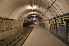 Top 10 Abandoned London Underground Stations: Aldwych