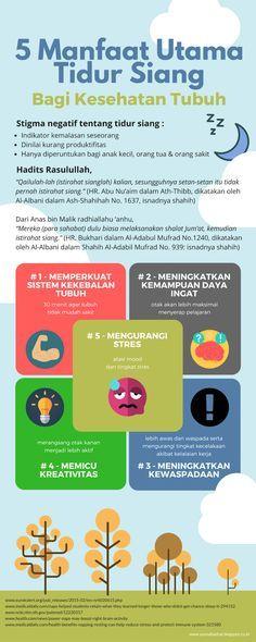 [Infografis] - The Power of Nap - 5 Manfaat Utama Tidur Siang Bagi Kesehatan Tubuh Anda - [Infografis]