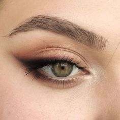 Soft Eye Makeup, Hazel Eye Makeup, Hazel Eyes, Smokey Eye Makeup, Simple Makeup, Eyeshadow Makeup, Natural Makeup, Smoky Eye, Makeup Geek