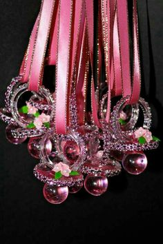 Baby Shower Give Away !! Bling Pacifier Necklace,