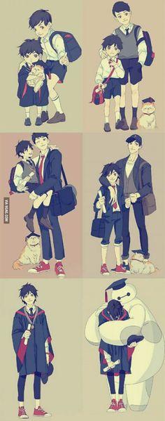 Hiro, Tadashi, Baymax...and Mochi | Graduation