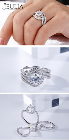 Hand crafted, halo, vintage or rose gold - shopping for a ring can be a little overwhelming. We have the advice & engagement ring ideas to help you. Irish Wedding Rings, Wedding Rings Simple, Beautiful Wedding Rings, Wedding Rings Vintage, Diamond Wedding Rings, Bridal Rings, Wedding Jewelry, Diamond Rings, Solitaire Ring Designs