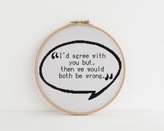 I'd agree with you but then we would both be wrong counted cross stitch xstitch pattern pdf