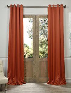 Blaze Grommet Blackout Curtain - SKU: BOCH-201304-GR at https://halfpricedrapes.com