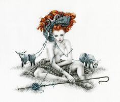 Bo Peep by Courtney Brims