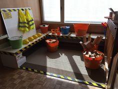 Baustelle im Kindergarten