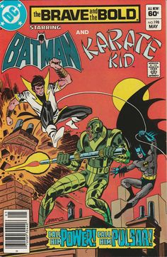 Brave & the Bold Vol. 29 No. 198 1983 Batman and Karate Kid by TheSamAntics