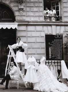 voguelovesme: Natalia Vodianova by Patrick Demarchelier for US...