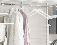Slik får du orden på vaskerommet - Byggmakker+ Slik, Clothes Hanger, Wardrobe Rack, Closet, Furniture, Home Decor, Tripod, Homemade Home Decor, Hangers