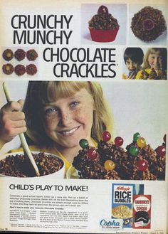 Chocolate Crackles ~ 1969