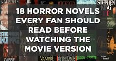 18 Horror Novels Every True Fan Should Read Before Watching The Movie Version