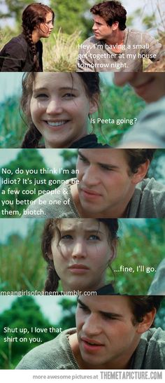 Mean Girls plus Hunger Games equals <3